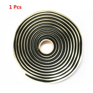 Balck Rubber Glue Sealant Car Auto Headlight LED Door Windshield Reseal Retrofit