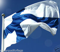 FINLAND FINNISH FLAG NEW 3x5 ft better quality usa seller
