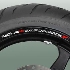 YZF R6 exup deltabox V Wheel rim stickers decals 600