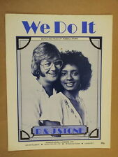 song sheet WE DO IT R & J Stone 1975