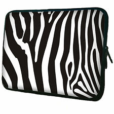 Zebra Neoprene Case Bag pouch For Samsung Galaxy Tab 3 P3200 P3210 7 Inch