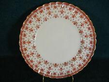 Spode Fleur de Lys Red Y7481 Bone China Salad Plate(s)
