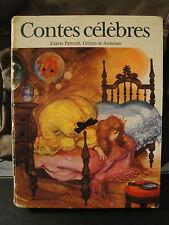 Livre enfant - Contes Célèbres - 1974