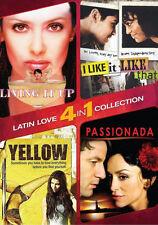 4-IN-1 LATIN ROMANCE: YELLOW, I LIKE IT LIKE THAT - DVD - Region 1 - Sealed