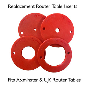 Replacement Router Plate Plastic Table Insert Ring Axminster UJK Tool