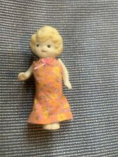 Vintage Bisque 5 1/4� Doll Made In Japan Kewpie Carnival Doll 1930s