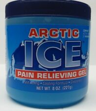 ARTIC ICE Muscle Pain Relieving Gel - {8 ounce jar} *Compare to Mineral Ice*