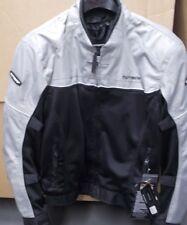 NOS Tour Master Draft Air 2 Mesh Jacket Silver Black Men XL 8757-0207-07