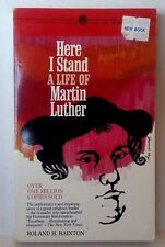 HERE I STAND A LIFE MARTIN LUTHER Roland H Bainton GOOD CONDITION BOOK