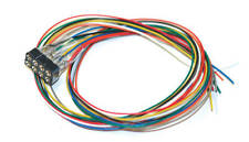 ESU 51950 Cable Harness NMRA 8-pin plug NEM652 DCC Color 300mm MODELRRSUPPLY-com