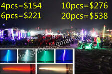 2PCS 3feet Quick Release LED Whips Light ATV RZR RGB Light Strips Free Shiping