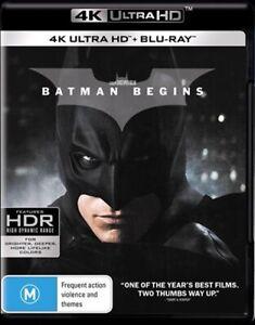 BATMAN BEGINS : NEW 4K Ultra HD UHD