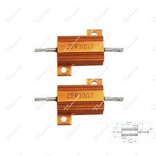 2PCS Car LED DRL Fog Light Load Resistor Canceller Decoder 25W 10 Ohm DIY Bulb