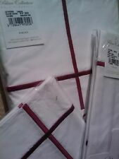 Yves Delorme ATHENA BLANC LAQUE EMBRIODERED Duvet Cover Set SUPERKING LUXURY