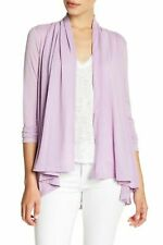 Gibson Cardigan Sweater Size XS Purple Open Front Womens