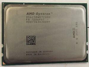 4 x AMD Opteron 6238 2.6GHz 12 Core CPU Processor OS6238WKTCGGU
