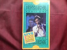 The Righteous Brothers Admit One Format: VHS Tape
