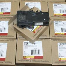 One Square D Homeline Hom120pdf 1p 20a Dual Function Plug On Neut Breakers