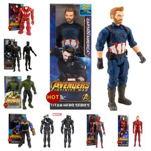 30cm Marvel The Avengers Superheld Spiderman Action Figur Figuren Iron Man Thor