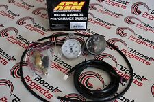 AEM ELECTRONICS 30-5132M Boost Display Gauge -1 to 2.4 BAR with Analog Face