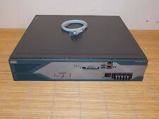 Cisco 2851-DC Integrated Services Router ISR 256MB RAM 64Flash DC Power Supply