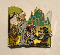 Great Movie Ride Moment Wizard Of Oz Disney Pin Mickey Mouse Goofy Donald Minnie