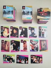 Lot of 400+ Pro Set Super Star Music Cards w/Janet Jackson, George Michael, DMC+