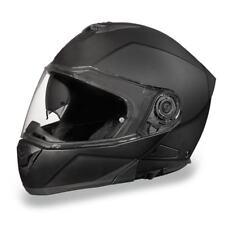Daytona Helmets Glide DOT Dull Black Modular Flip-Up Motorcycle Helmet
