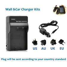 Main&car  Battery Charger kits for Canon NB-2L EOS 350D 400D