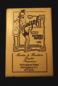 Two (2) Advertising Mirrors c. 1925-1935 Relating To Fashion