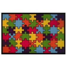 La Rug Fun Rugs Ft-144 5178 Fun TimeNew Jigsaw Puzzle Rug