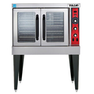 Vulcan VC5GD LP Gas Convection Oven, Single Deck with Casters