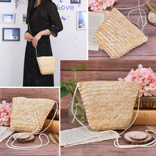 rattan grass small ladies can be fitted with mobile purse cute grass women bagZP