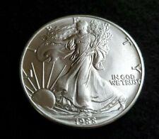 Gem BU 1988 American Silver Eagle