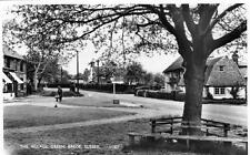 Brede Village Green Nr Hastings Rye RP old pc used 1962 Norman
