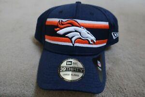 Denver Broncos BRAND NEW New Era 39THIRTY Hat Size L-XL 100% Polyester