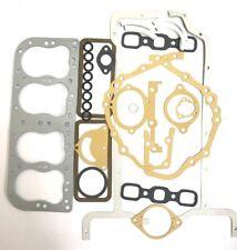 New Full Gasket Set for Ford Tractor 2N 8N 9N Metal Head 8N6008M Engine Overhaul