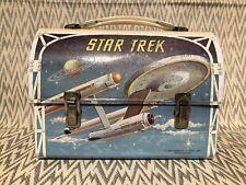 VINTAGE 1968 ALADDIN STAR TREK DOME METAL LUNCHBOX