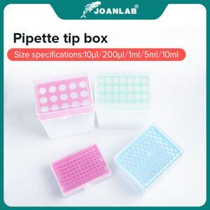 JOANAB Pipette Tip Box 10ul 200ul 1ml 5ml 10ml  PlasticMicropipette Tip Box