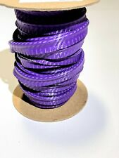 Purple Flame Marine Vinyl Welt Cord Piping Outdoor Automotive Upholstery Bty