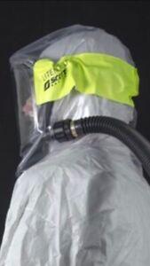 Scott Safety FH32 LITE Hood Protective Auto Mask Tornado Proflow SPIRIT PAPR PPE
