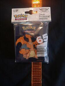 Protège-cartes Pokémon - Sleeves x65 Ultra PRO Standard - Dracaufeu (Charizard)