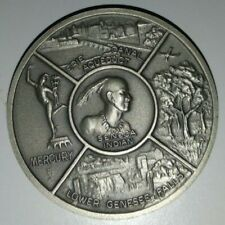 County of Monroe, NY Sesquicentennial Sterling Silver Medal