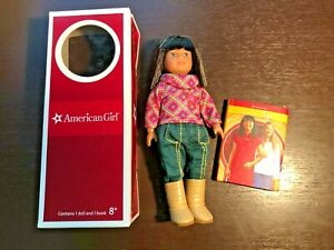 *** RETIRED *** American Girl Mini Doll -Ivy Ling, 1974 Outfit, Box, Book