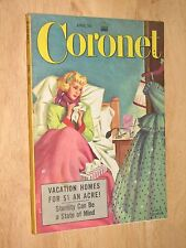 Coronet Magazine April 1953 Vacation Homes for $1 an Acre!
