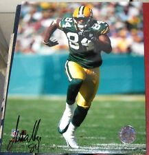 Javon Walker Green Bay Packers SIGNED 8X10 Photo COA Autographed Football NFL