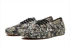 """MOMA × VANS AUTHENTIC """"JACKSON POLLOCK"""" One:Number31:1950 BRAND NEW US 4.5"""