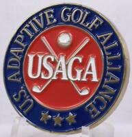 USAGA Challenge Coin Ball Marker Adaptive Golf Alliance Physically Disabled Vets