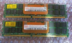 Hynix HYMP525B72BP4N2-C4 4GB (2x2GB) PC2-4200 DDR2 ECC CL4 240P DIMM Memory