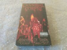 CANNIBAL CORPSE  Monolith of Death (VHS, 1997) Death Morbid Angel Deicide  RARE